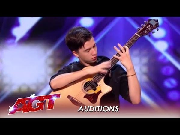 Marcin Patrzalek Polish Guitarist MURDERS His Guitar WOW America's Got Talent 2019