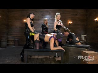 Carmen Rivera, Lexi Sindel, Domina Dahlia (Mega Ass Blasters!) [2020, Femdom,Strap-on,Anal,Latex,Mask,BDSM,Bondage, 1080p]