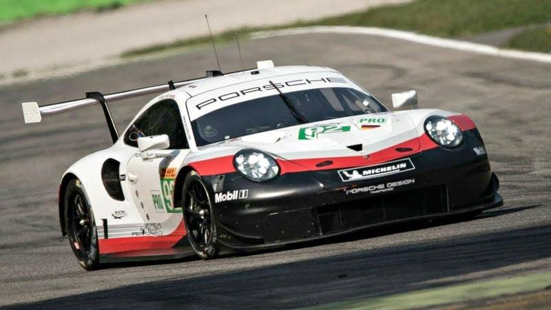 NEW Porsche 991 2 RSR with Open Exhaust ORGASMIC 4 0L Flat Six Sound @ Monza