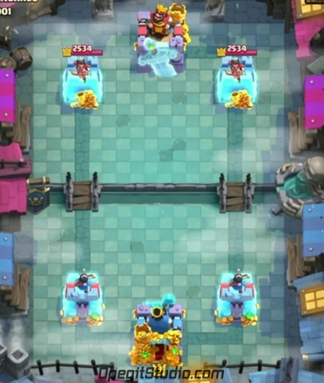 Как выглядит новый скин «Призрачная башня» в бою!