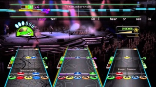 Guitar Hero Metallica Master of Puppets Full Band Expert
