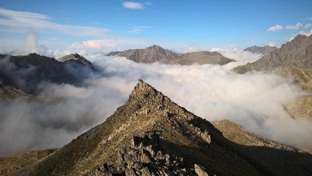 На южном склоне Качкарских гор