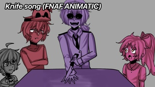 The Knife Game Song (Afton Family & ft. Henry) fnaf animatic