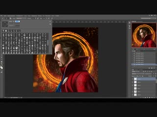 РИСУНОК ДОКТОР СТРЕНДЖ В Photoshop - Drawing Doctor Strange in Photoshop - SPEEDPAINT