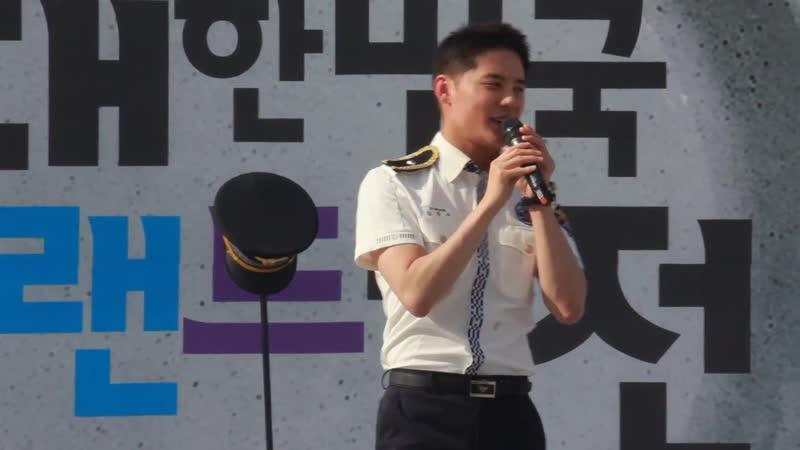 170603 [대한민국브랜드대전] 김준수 - 첫인사~대전 개그