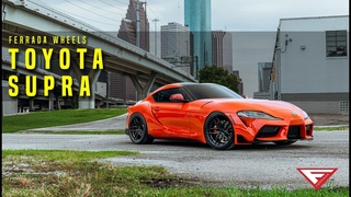 2020 Toyota Supra | Smoking Section | Ferrada Wheels FR5