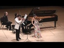 Moszkowski Suite for Two Violins Piano 3rd mvt G Schmidt B Hristova V Asuncion