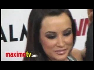 LISA ANN at 2011 AVN AWARDS Red Carpet Arrivals