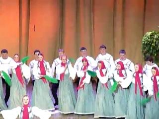 Хор имени М Пятницкого Юбилейное выступление в КЦ Чайковского 09 03 2011