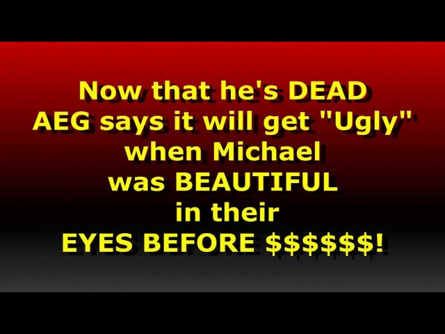 Michael IS Innocent: The AEG and Wade Robson's Agenda? HD1080i