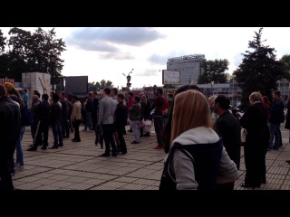 День города в «Москвиче»: «Битва двух столиц». Фрагмент фристайл-баттла