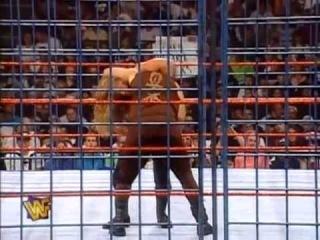 WWF SummerSlam 97' - Mankind Vs. Hunter Hearst Helmsley - Steel Cage
