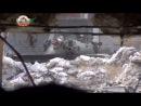 Syria SAA tank vs FSA sniper