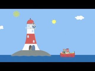 Peppa pig 3 36 Grampy rabbit s lighthouse Маяк Дедушки Кролика