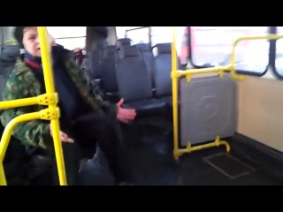 Бабка в автобусе. (Наталья морская пехота)