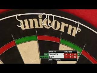 Robert Thornton vs Max Hopp (PDC World Darts Championship 2014 / Round 1)