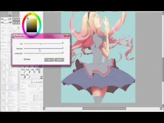 Tenty's Speed Paint Luka Megurine Colour Part 1 1