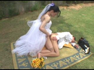 Порно Красивый Транс Невеста