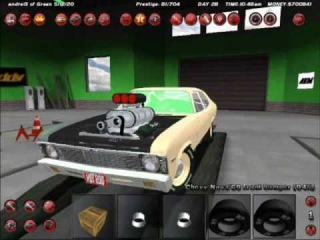 Chevrolet Nova on street legal racing redline