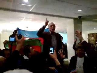Поздравление Посла Азербайджанской Республики в РФ с победой на Евровидении
