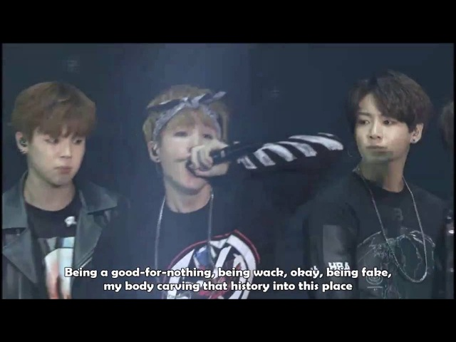 [Eng] We are Bulletproof pt 1 live - 2015 BTS Live Trilogy Episode I : BTS BEGINS