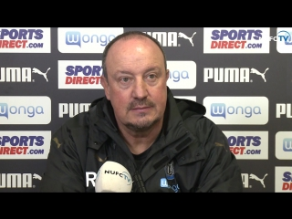 Benitez's pre-nottingham forest media briefing