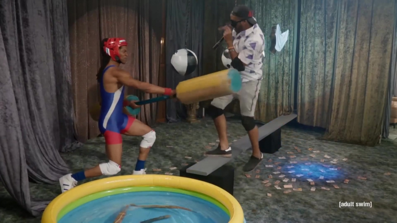 A$AP Rocky Danny Brown Open Mike Eagle Nocando и Go Dreamer в передаче The Eric Andre Show