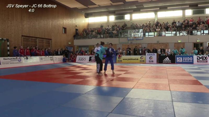 Bundesliga-Finalrunde der Frauen_ Viertelfinale - JSV Speyer vs. JC 66 Bottrop - Judo