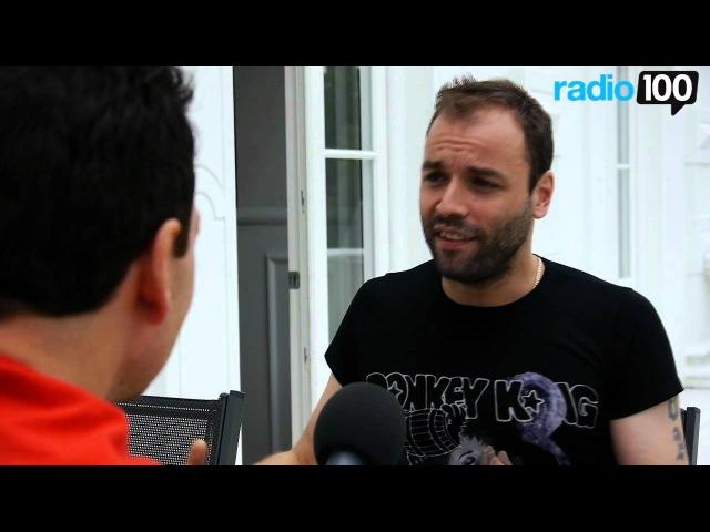 Chris fra Muse interview del 4 Radio 100 Ivan Gregersen 4