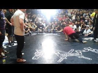 | <<  RadikalForceJam 2013 4x4 bboy Finals - France vs Thailand | <<