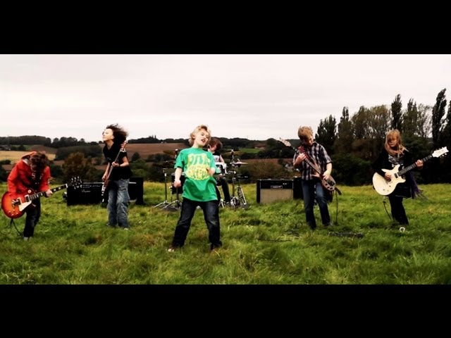The Mini Band Metallica's fav kid band aged 9 to 11's Official Music Video 'Ain't No Other Way'