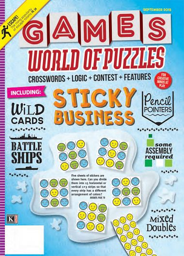Games World Of Puzzles - Sticky Business (September 2015) [CPUL]