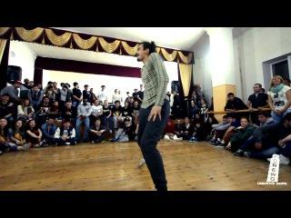 1/4 All Styles | B-Boy Gun vs Lieto | ТОЧКА | Cherkessk | CreWo