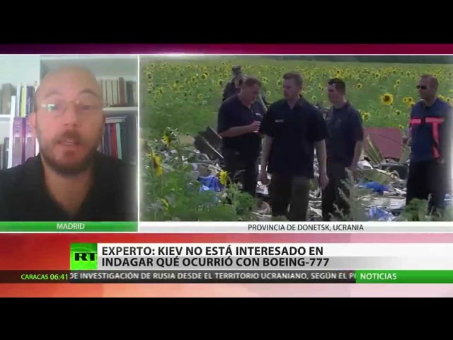 RT UCRANIA 260714 Kiev no está interesado en indagar que ocurrio con el MH17 смотреть онлайн без регистрации
