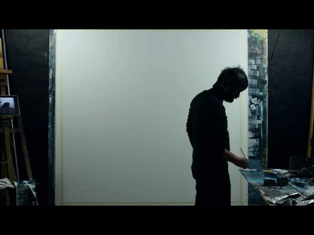 Valerio D'Ospina Painting Progression Music Track Don't Be Blur