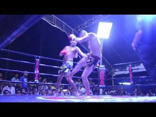 James Heelan (Tiger Muay Thai) vs Prab (Rawai Supa Muay Thai) 4/12/2014