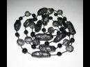 Бусы из фольги и полиэтилена Beads from foil and polyethylene