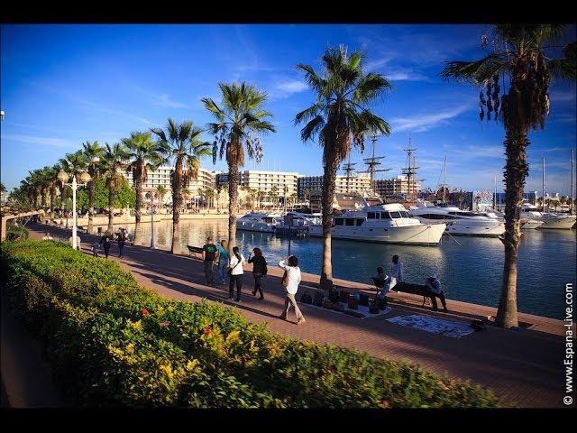 Видео про город Аликанте, Испания, туры, достопримечательности, экскурсии