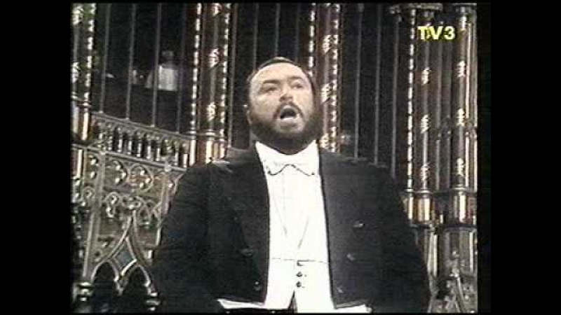 Luciano Pavarotti Montreal 1978 Adeste Fideles