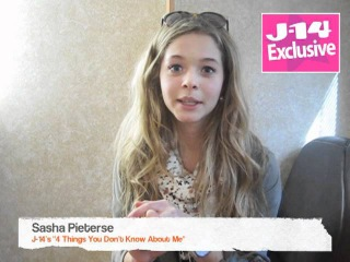 J-14 Exclusive: 4 Things You Don't Know About Sasha Pieterse