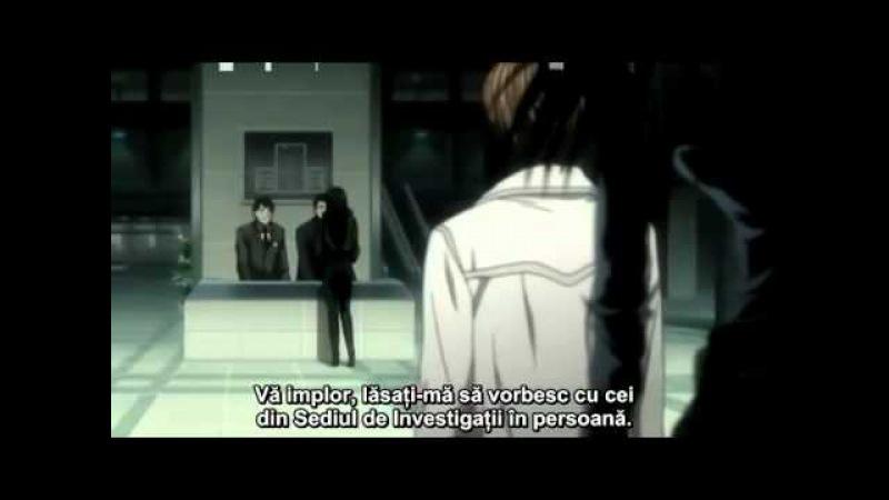 Death Note Episodul 6 - Cusaturi Deschise (subtitrat RO)