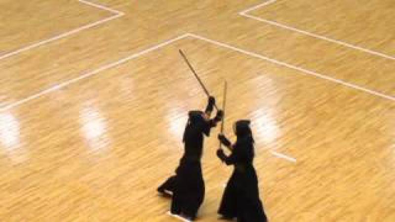 1部予選 警視庁対佐賀 先鋒・川崎対陣内 次鋒・林対高取 五将・越川 2