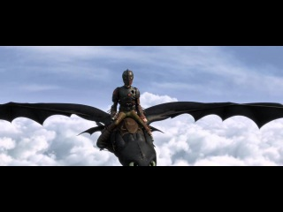 Hiccup and Toothless - Where No One Goes - Fly scene || HTTYD2