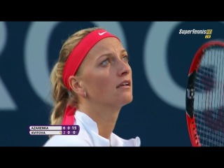 Petra Kvitova vs Victoria Azarenka TORONTO 2015 Set-2 [FULL HD]