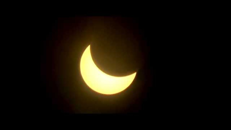 Солнечное затмение г.Иваново SONY HDR-CX330