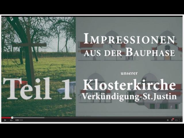 Skite Geilnau zeigt Impressionen vom Kirchenbau - Teil1
