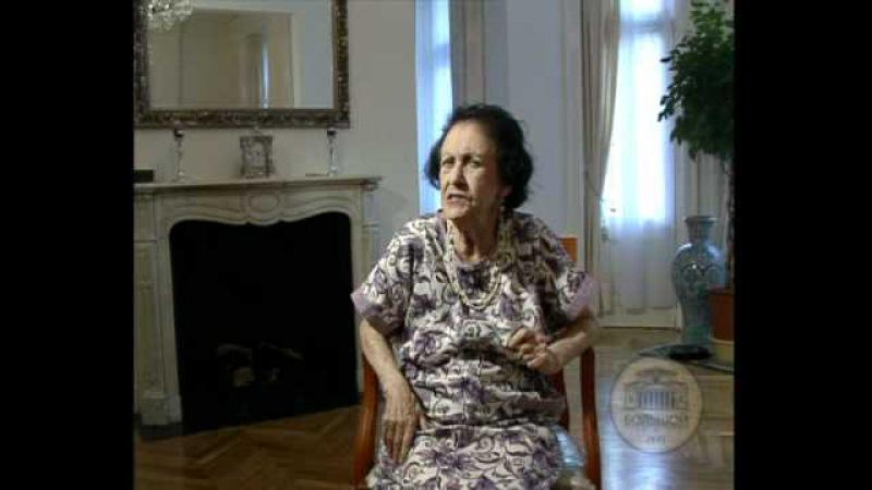 Суламифь Мессерер Sulamith Messerer about herself 1 3 part