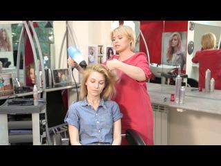 Видеоблог Виктории Литвиненко: как создать объём у корней волос