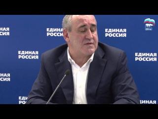 Сергей Неверов о стратегии Партии в предвыборную кампанию-2015