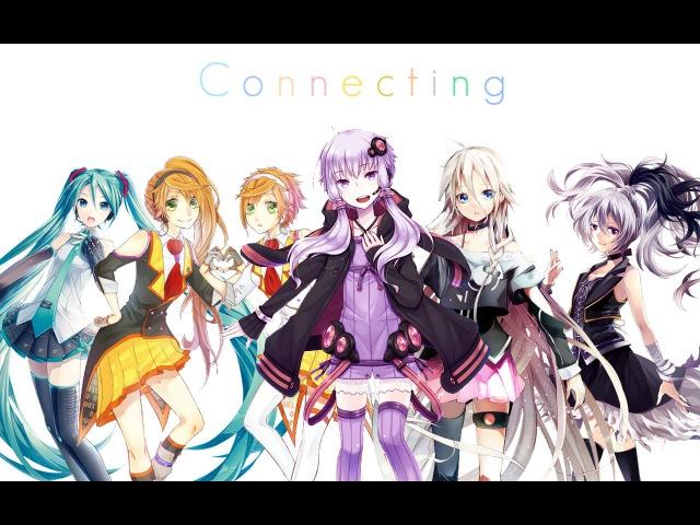 VOCALOID Connecting Yukari Miku Kanon Anon Ia V flower MP3